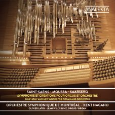 Saint-Saëns, Moussa, Saarihao : Symphony and new works with Organ