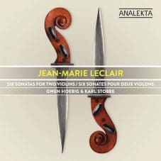 Jean-Marie Leclair: Six Sonatas for Two Violins, Op. 3