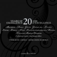 Analekta: 20 ans d'excellence (Coffret 6CDs)