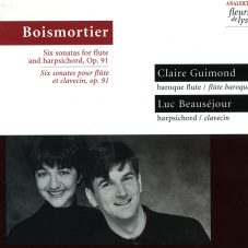 Boimortier: Six sonatas for Flute and Harpsichord Op.91
