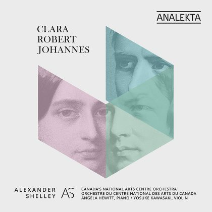 Clara - Robert - Johannes by the NAC Orchestra | Analekta